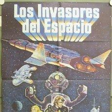 Cinema: GR04 LOS INVASORES DEL ESPACIO VIC MORROW TOEI POSTER ORIGINAL ESTRENO 70X100. Lote 11885799