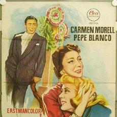 Cine: GR59 MARAVILLA PEPE BLANCO CARMEN MORELL POSTER ORIGINAL 70X100 ESTRENO LITOGRAFIA. Lote 11928729