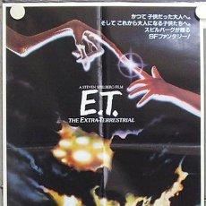 Cine: GS91 E.T. EL EXTRATERRESTRE STEVEN SPIELBERG POSTER ORIGINAL 52X73 JAPONES. Lote 11948926