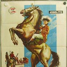 Cine: GV23 EL PEQUEÑO CORONEL JOSELITO POSTER ORIGINAL 70X100 ESTRENO. Lote 11992434