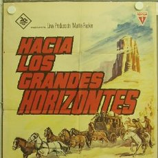 Cine: GX04 HACIA LOS GRANDES HORIZONTES NUEVA VERSION DE LA DILIGENCIA ANN-MARGRET POSTER 70X100 ESTRENO. Lote 12064814