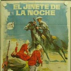 Cine: GX76 EL JINETE DE LA NOCHE ANNETTE VILLIERS BRIAN O'SHAUGHNESSY POSTER ORIGINAL 70X100 ESTRENO. Lote 12069857