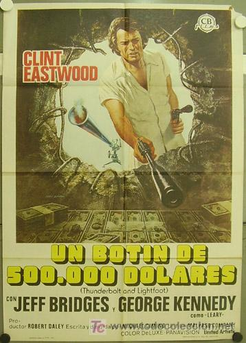 HB34 UN BOTIN DE 500000 DOLARES CLINT EASTWOOD POSTER ORIGINAL ESTRENO 70X100 (Cine - Posters y Carteles - Acción)