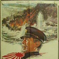 Cine: HC29 LA BATALLA DEL JAPON TOSHIRO MIFUNE POSTER ORIGINAL 70X100 ESTRENO. Lote 12203202