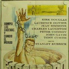 Cine: HC77 ESPARTACO STANLEY KUBRICK KIRK DOUGLAS POSTER ORIGINAL ESPAÑOL 70X100. Lote 12245025