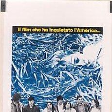 Cine: HD25 RIVER'S EDGE KEANU REEVES DENNIS HOPPER POSTER ORIGINAL ITALIANO 33X70. Lote 12260913