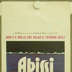 Cine: HE58 ABISMO JACQUELINE BISSET NICK NOLTE POSTER ORIGINAL ITALIANO 33X70. Lote 12276160