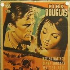 Cine: OZ78D PACTO DE HONOR KIRK DOUGLAS WALTER MATTHAU INDIOS POSTER ORIGINAL 70X100 ESTRENO LITOGRAFIA. Lote 16636274