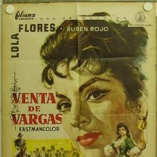 Cine: HF23 VENTA DE VARGAS LOLA FLORES MCP POSTER ORIGINAL 70X100 ESTRENO. Lote 12301970