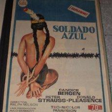 Cine: SOLDADO AZUL - 1972 - DE RALPH NELSON CON CANDICE BERGEN, PETER STRAUSS Y DONALD PLEASENCE - ESTRENO. Lote 13231016