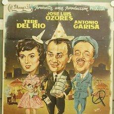 Cine: HH06 EL GAFE JOSE LUIS OZORES ANTONIO GARISA PEDRO L. RAMIREZ RUMBO POSTER ORIGINAL 70X100 ESTRENO. Lote 16509511