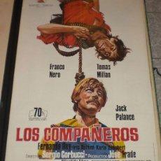 Cine: LOS COMPAÑEROS - 1971 - DE SERGIO CORBUCCI CON FRANCO NERO Y KARIN SCHUBERT - ESTRENO. Lote 12365417