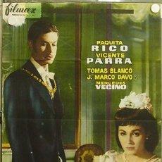 Cine: HJ05 DONDE VAS ALFONSO XII VICENTE PARRA PAQUITA RICO POSTER ORIGINAL 70X100 ESTRENO. Lote 12396252