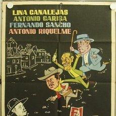 Cine: HJ39 EL SECRETO DE PAPA ANTONIO GARISA FERNANDO SANCHO POSTER ORIGINAL 70X100 ESTRENO. Lote 12397826
