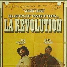 Cine: VF25D AGACHATE MALDITO SERGIO LEONE JAMES COBURN POSTER ORIGINAL FRANCES 60X80. Lote 12454700