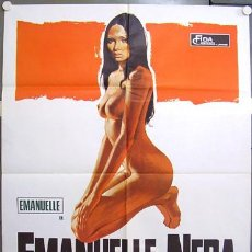 Cine: QS25D EMANUELLE NEGRA LAURA GEMSER SEXY POSTER ORIGINAL 100X140 ITALIANO. Lote 15631701