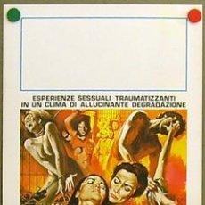 Cine: XV84D VIOLENCIA EN UNA CARCEL DE MUJERES LAURA GEMSER BRUNO MATTEI POSTER ORIGINAL ITALIANO 33X70. Lote 12556275