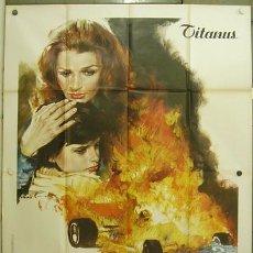 Cine: QS45 LA BELLISSIMA ESTATE SENTA BERGER SERGIO MARTINO AUTOMOVILISMO POSTER ORIGINAL 140X200 ITALIANO. Lote 20129767