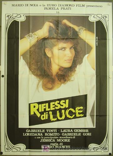 HO65 RIFLESSI DI LUCE PAMELA PRATI LAURA GEMSER LESBIAN POSTER ORIGINAL 140X200 ITALIANO (Cine - Posters y Carteles - Terror)