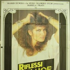Cine: HO65 RIFLESSI DI LUCE PAMELA PRATI LAURA GEMSER LESBIAN POSTER ORIGINAL 140X200 ITALIANO. Lote 12592741