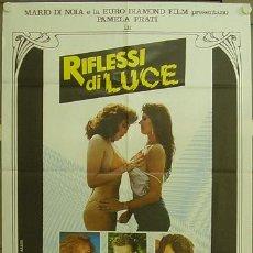 Cine: HO35 RIFLESSI DI LUCE PAMELA PRATI LAURA GEMSER LESBIAN POSTER ORIGINAL 100X140 ITALIANO. Lote 12592846