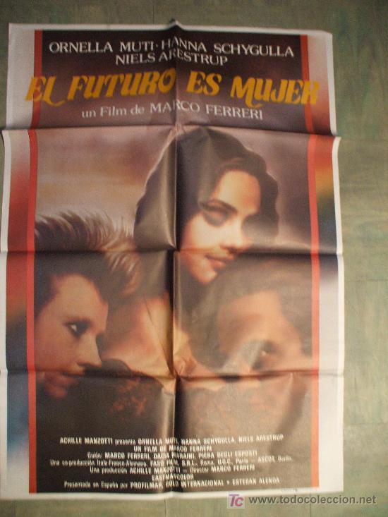 cartel de cine original: el futuro es mujer . a - Comprar Posters de ...