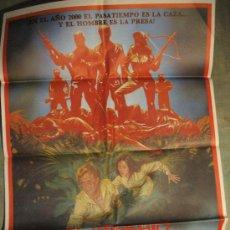Cine: CARTEL DE CINE ORIGINAL: EL IMPERIO DE LA MUERTE. AÑOS 70.TAMAÑO 70 X 100. Lote 192836058