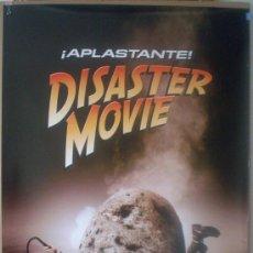 Cine: ORIGINALES DE CINE: DISASTER MOVIE (TEASER) - 70X100.. Lote 21125168