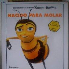 Cine: ORIGINALES DE CINE: BEE MOVIE - 70X100 EN ROLLO.. Lote 20777569