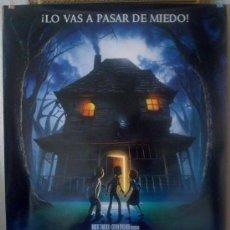 Cine: ORIGINALES DE CINE: MONSTER HOUSE - 70X100CMS EN ROLLO. Lote 54019228