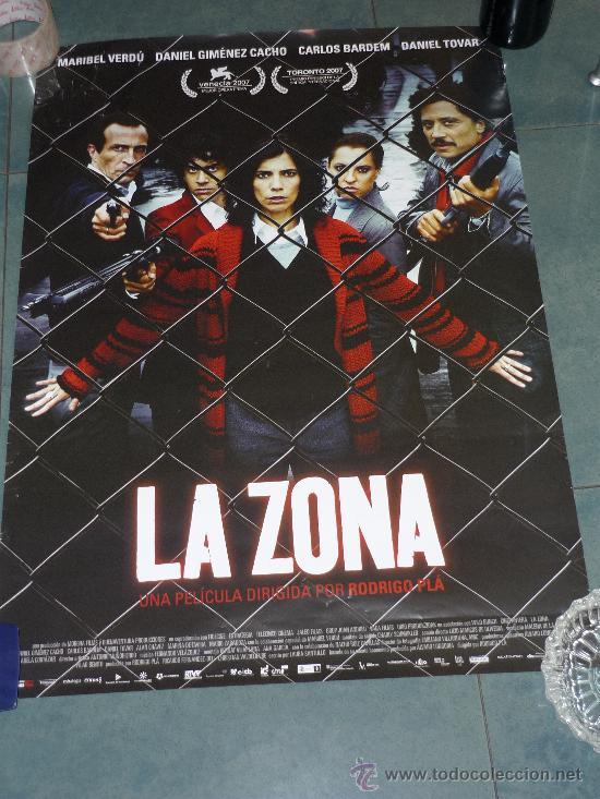 POSTER PELICULA *LA ZONA* - MARIBEL VERDÚ, CARLOS BARDEM - 50X70 CM (Cine - Posters y Carteles - Suspense)