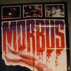 Cine: CARTEL DE CINE ORIGINAL: MORBUS. Lote 192835960