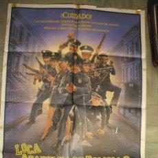 Cine: CARTEL DE CINE ORIGINAL: LOCA ACADEMIA DE POLICÍA II. AÑOS 70.TAMAÑO 70 X 100. Lote 12886570