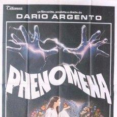 Cine: YZ96D PHENOMENA DARIO ARGENTO GIALLO POSTER ORIGINAL ITALIANO 140X200. Lote 21305190
