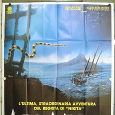 Cine: HW07 ATLANTIS LUC BESSON POSTER ORIGINAL ITALIANO 140X200. Lote 13099420