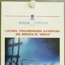 Cine: HW84 ATLANTIS LUC BESSON POSTER ORIGINAL ITALIANO 33X70. Lote 13118633