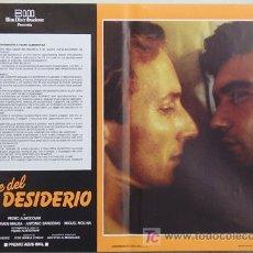 Cine: HX48 LA LEY DEL DESEO PEDRO ALMODOVAR ANTONIO BANDERAS CULT GAY SET 4 POSTER ORIGINAL ITALIANO 47X68. Lote 13188941