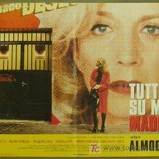 Cine: YE94D TODO SOBRE MI MADRE PEDRO ALMODOVAR SET 6 POSTERS ORIGINAL ITALIANO 47X68. Lote 13177588