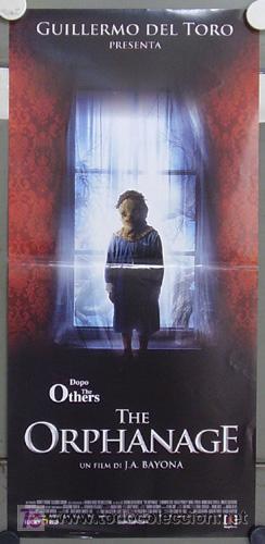 HY96 EL ORFANATO GUILLERMO DEL TORO BELEN RUEDA JUAN ANTONIO BAYONA POSTER ORIGINAL ITALIANO 33X70 (Cine - Posters y Carteles - Clasico Español)