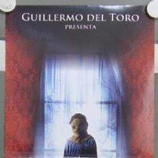 Cine: HY96 EL ORFANATO GUILLERMO DEL TORO BELEN RUEDA JUAN ANTONIO BAYONA POSTER ORIGINAL ITALIANO 33X70. Lote 99510635