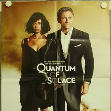 Cine: HY52 QUANTUM OF SOLACE JAMES BOND 007 DANIEL CRAIG POSTER ORIGINAL ESTRENO 70X100. Lote 13193253