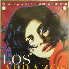 Cine: E284 LOS ABRAZOS ROTOS PEDRO ALMODOVAR PENELOPE CRUZ POSTER ORIGINAL ESTRENO 70X100. Lote 289870438
