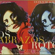 Cine: E285 LOS ABRAZOS ROTOS PEDRO ALMODOVAR PENELOPE CRUZ POSTER ORIGINAL ESTRENO 50X70. Lote 30280418