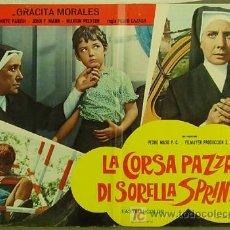 Cine: HY56 SOR CITROEN GRACITA MORALES MARI CARMEN PRENDES POSTER ORIGINAL ITALIANO 47X68. Lote 54601629
