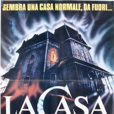 Cine: HZ32 POSESION INFERNAL EVIL DEAD SAM RAIMI POSTER ORIGINAL ITALIANO 68X94. Lote 13196803