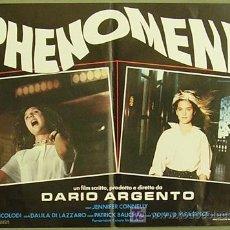 Cine: IA37D PHENOMENA DARIO ARGENTO GIALLO JENNIFER CONNELLY SET 8 POSTERS ORIGINAL ITALIANO 47X68. Lote 19490698