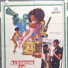 Cinéma: IC42 ALGODON EN HARLEM BLAXPLOITATION POSTER ORIGINAL 70X100 ESTRENO. Lote 13385817