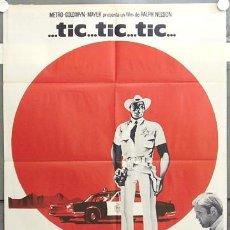 Cine: ID16 TICK TICK TICK JIM BROWN FREDRIC MARCH BLACK CAST POSTER ORIGINAL 70X100 ESTRENO. Lote 13400271