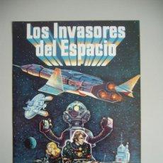 Cine: JUEGO DE 12 FOTOCROMOS DE LA PELÍCULA LOS INVASORES DEL ESPACIO. ORIGINALES DE ÉPOCA. Lote 24090802