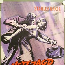 Cine: IF99 HELL IS A CITY HAMMER STANLEY BAKER POSTER ORIGINAL ALEMAN 60X84. Lote 13495293